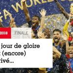 """Revista France Football: """"O dia da glória chegou (de novo)"""" - Reprodução"""