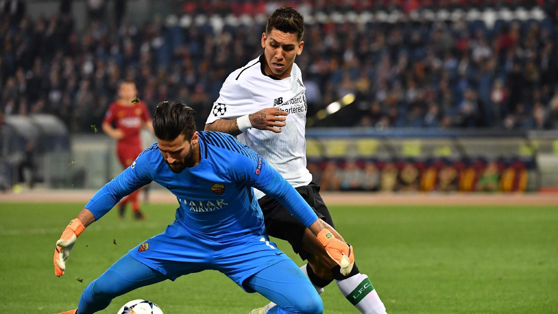 Roberto Firmino Alisson Roma Liverpool