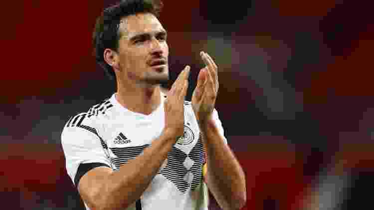Mats Hummels, zagueiro da seleção da Alemanha - REUTERS/Hannah McKay - REUTERS/Hannah McKay