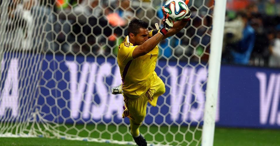 Sergio Romero Argentina pênalti Holanda Copa 2014