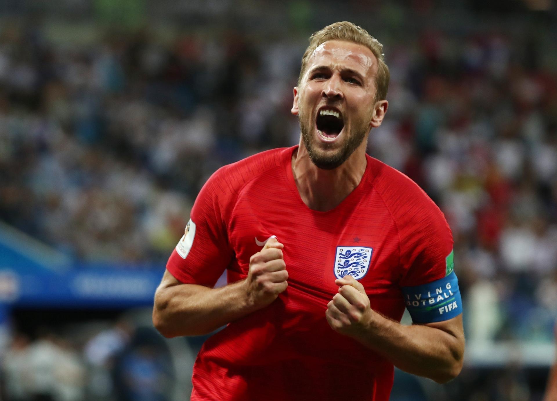 d09e23ac7f Estreia decisiva põe Harry Kane como líder e astro da seleção da Inglaterra  após Rooney