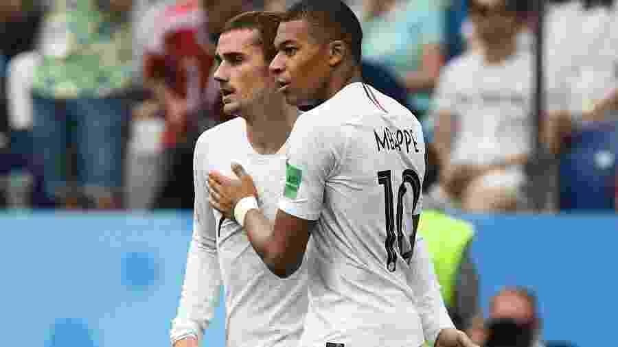 Nome é homenagem a jogadores campeões da Copa do Mundo de 2018 pela França - AFP PHOTO / FRANCK FIFE