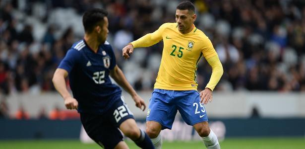 Diego Souza foi aproveitado por Tite no amistoso da última sexta, contra o Japão