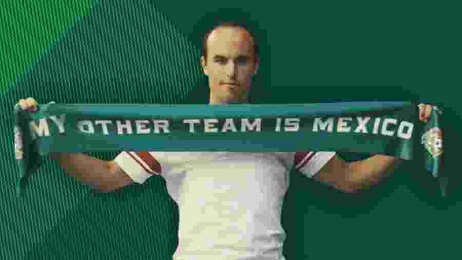 A convite de patrocinador, Landon Donovan declarou México como seu segundo time. Mas recebeu reprovação - @landondonovan/Twitter