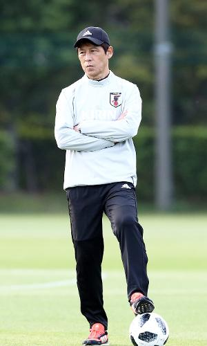 Akira Nishino, técnico do Japão na Copa do Mundo de 2018