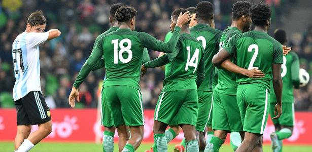 Jogadores da Nigéria receberão R  7 df7eb5a8eb847