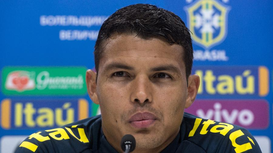 Thiago Silva, zagueiro do PSG, já esteve em três Copa do Mundo - Pedro Martins / MoWA Press