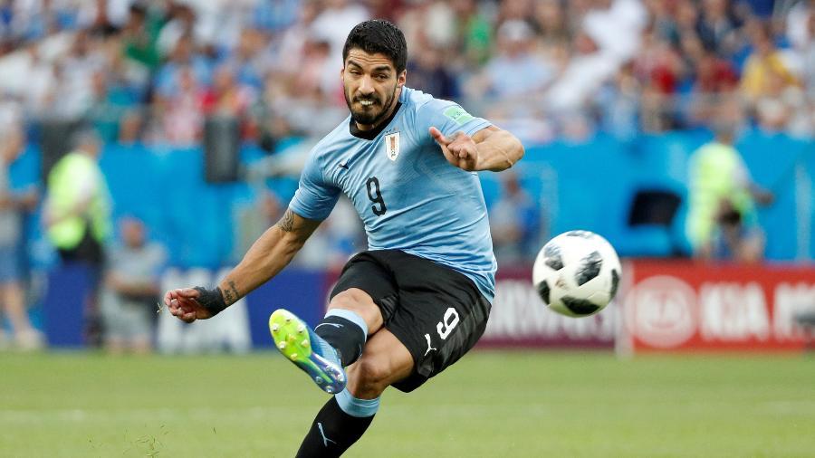 Suárez na vitória do Uruguai sobre a Arábia Saudita -  REUTERS/Max Rossi