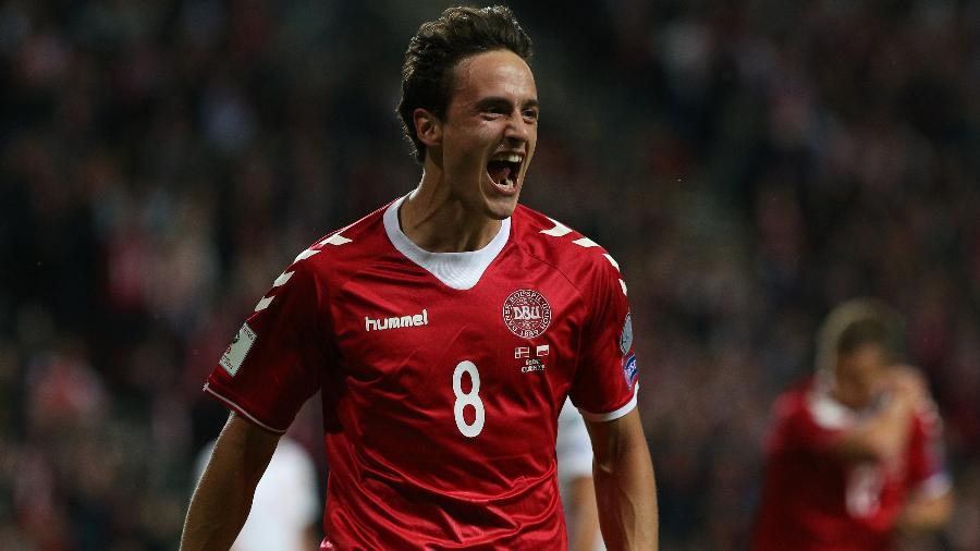 Delaney diz que meta da Dinamarca na Copa é chegar, pelo menos, às oitavas de final - Andrew Halseid-Budd/Getty Images