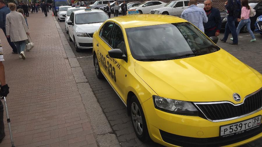 Taxistas russos estão cobrando o triplo do preço na Copa - Felipe Pereira