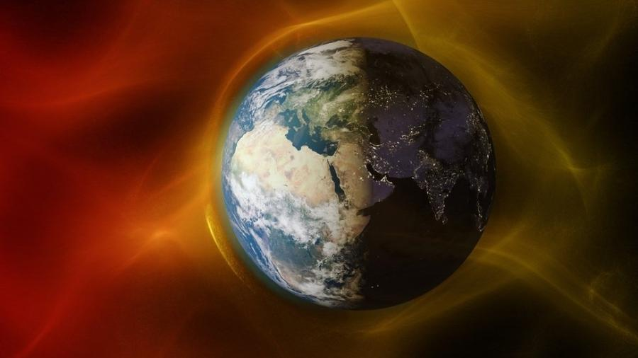 Região de menor intensidade do campo magnético da Terra, situada acima do continente sulamericano, tem efeitos que podem ser sentidos a partir de cem quilômetros de altitude - Getty Images