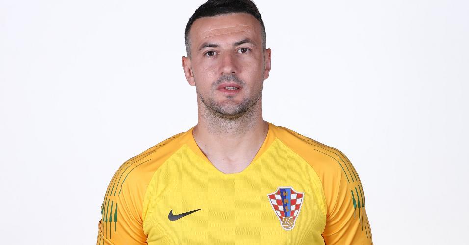 Danijel Subasic, goleiro da Croácia na Copa 2018