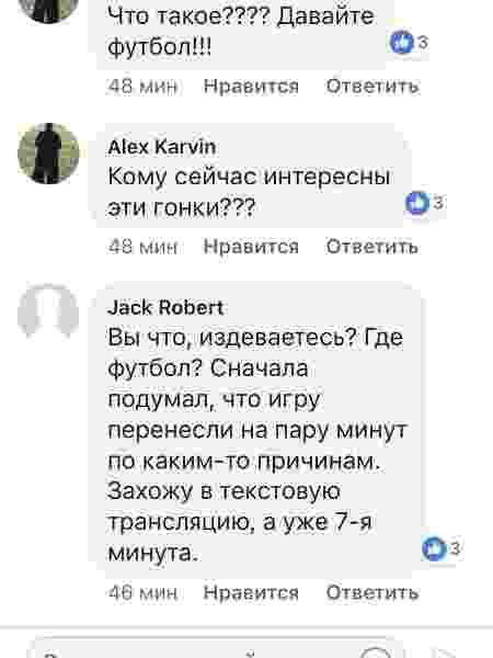 TV russa criticada - Reprodução/Facebook - Reprodução/Facebook