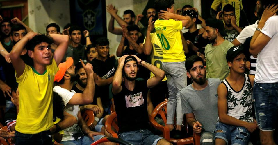 Líbano torcedores seleção brasileira