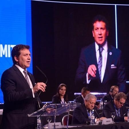 Presidente da Conmebol, Alejandro Domínguez - Conmebol/Oficial