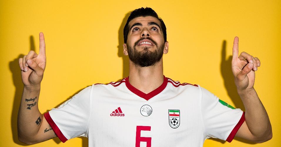 Saeid Ezatolahi, jogador da seleção do Irã
