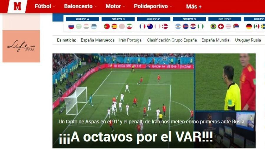 Marca - Espanha 2 x 2 Marrocos