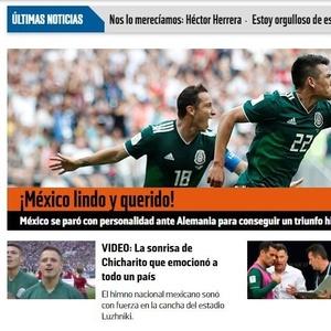 México na Copa 2018