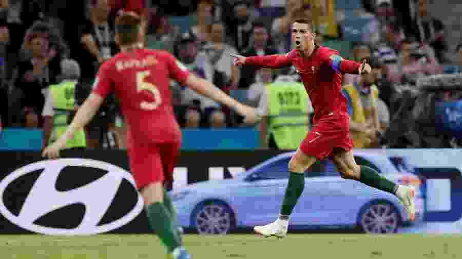 Cristiano Ronaldo marca três contra Espanha e iguala feito de Pelé em Copas 4d8e40adc25a5
