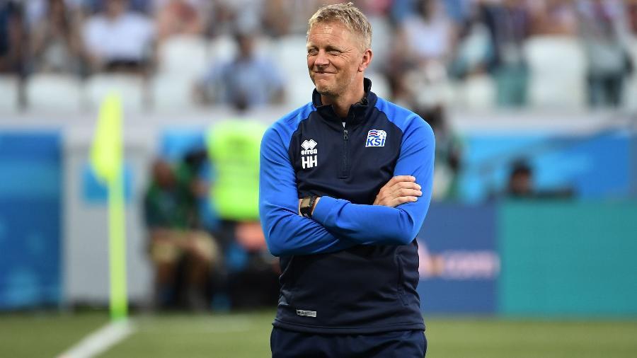 Heimir Hallgrimsson Islândia Nigéria Copa do Mundo técnico - Nicolas Asfouri/AFP