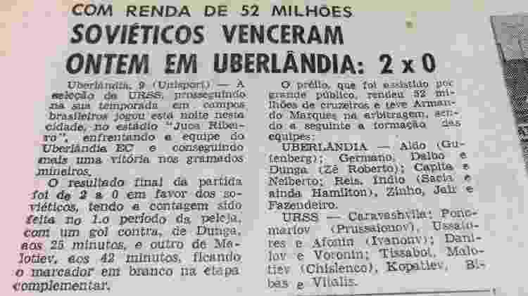 URSS vence Uberlândia - UOL - UOL