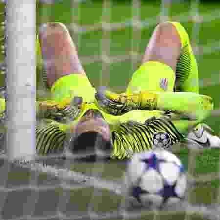 Subasic em ação pelo Monaco na Liga dos Campeões - Stuart Franklin/Getty Images