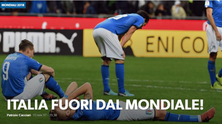 Reprodução/Corriere Dello Sport