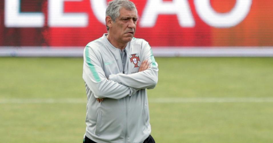 Fernando Santos, técnico de Portugal na Copa 2018