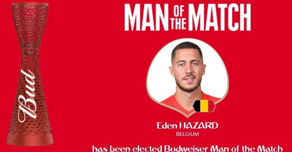 Eden Hazard é eleito o