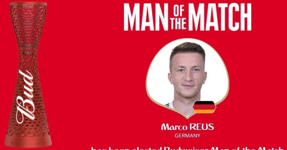 Marco Reus foi eleito o