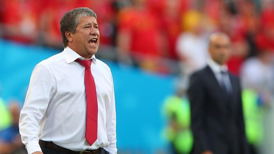 Hernán Darío Gómez sofre pressão no comando técnico do Equador - Hannah McKay/Reuters