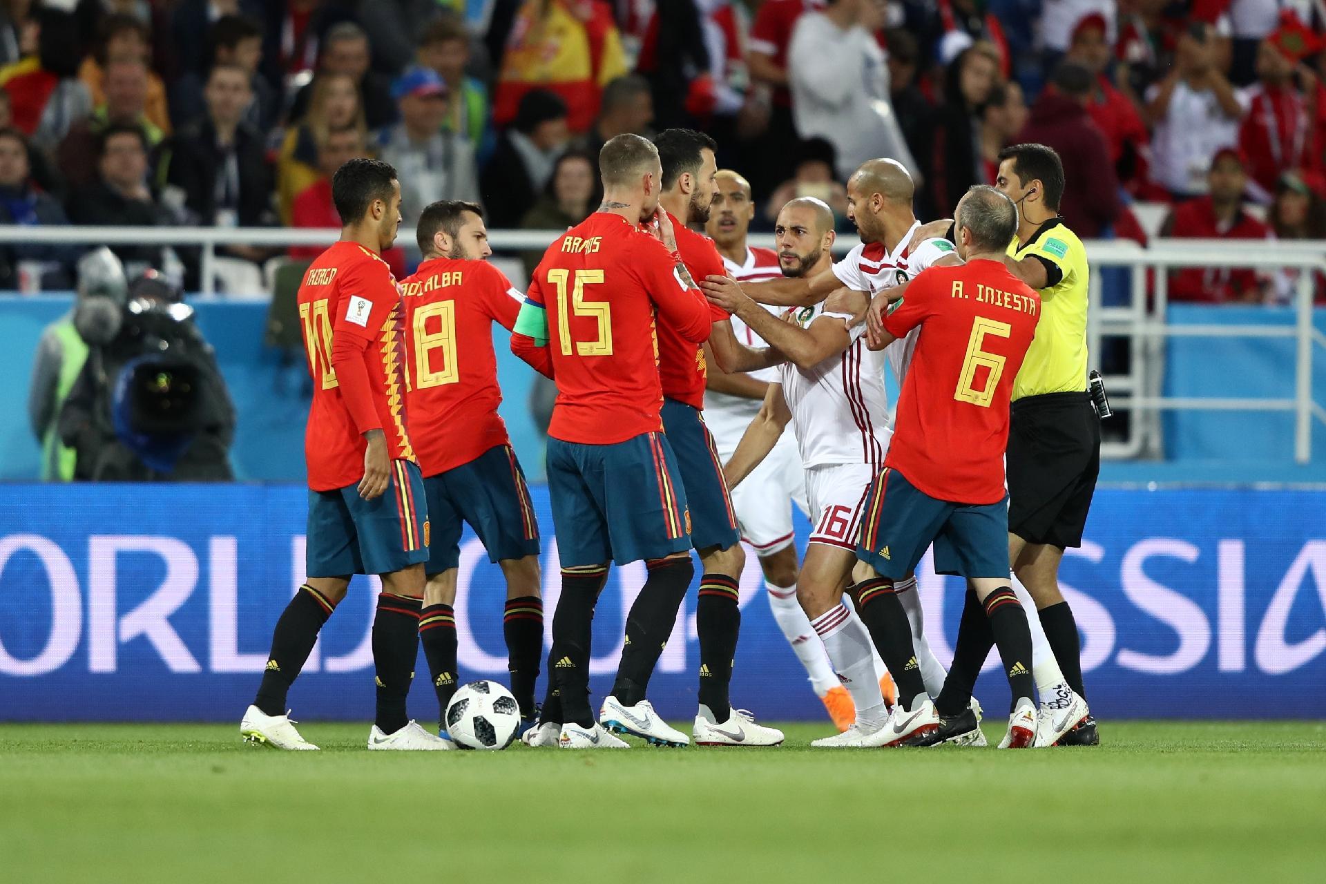 DIÁRIO DO RIO PRETO (DRP)  UOL  Espanha empata com Marrocos graças ... 4009210f57a40