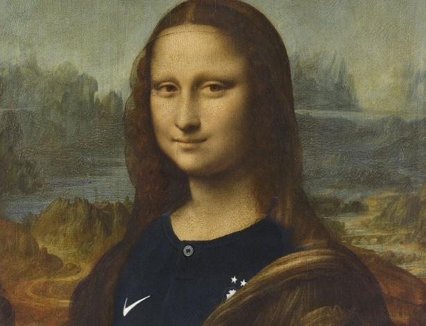 Museu do Louvre usa imagem de Mona Lisa para parabenizar França por título mundial