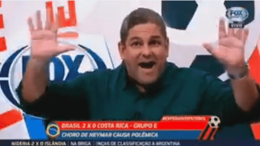 João Guilherme se irrita com discussão e pede respeito ao telespectador - Reprodução/TV