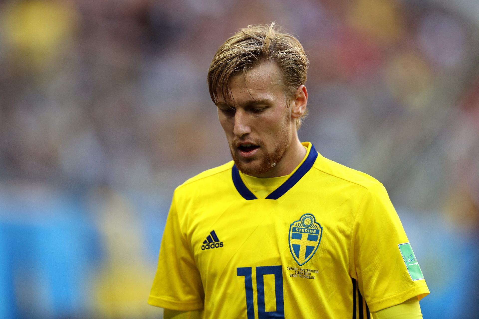 Suécia na Copa 2018  Camisa 10 admite  apagão  da Suécia após 1º gol  inglês