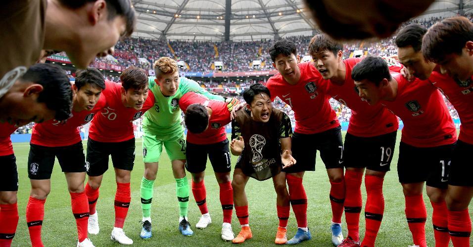 Coreia do Sul México Copa do Mundo jogadores