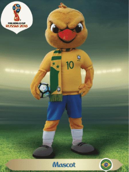 Canarinho Pistola está presente em novas figurinhas da Panini para o álbum da Copa do Mundo - Divulgação