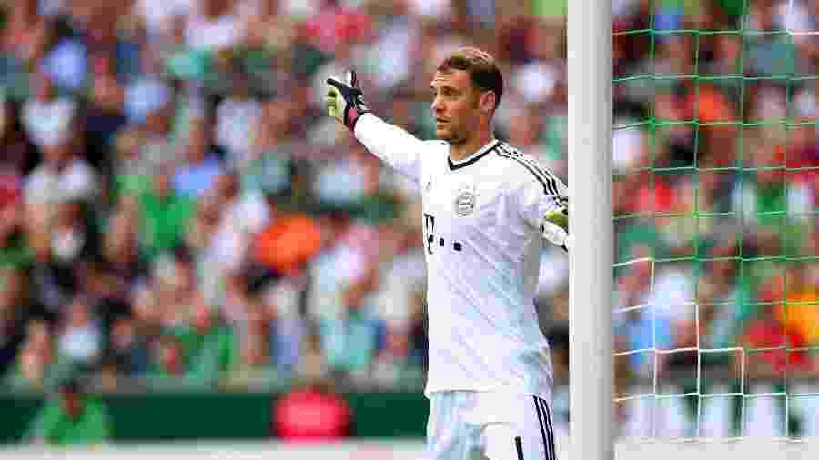 O goleiro Manuel Neuer, do Bayern, pode deixar o clube em breve - Patrik Stollarz/AFP