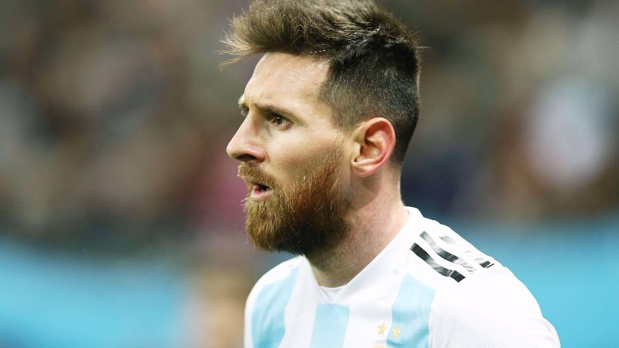 Messi nunca venceu uma final pelo time principal da Argentina - Oleg Nikishin/Epsilon/Getty Images