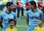 Geração uruguaia envelhece, e pilares do time se despedem da Copa América - Marko Djurica/Reuters