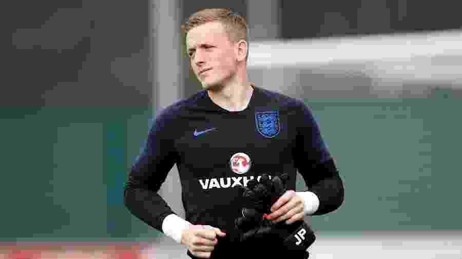 Jordan Pickford, goleiro da seleção inglesa - Reuters/Carl Recine