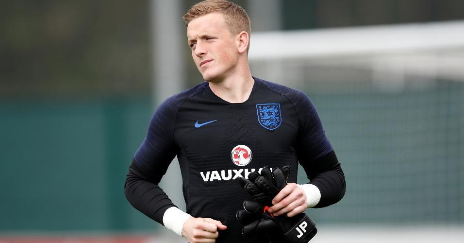 Jordan Pickford, goleiro da seleção inglesa