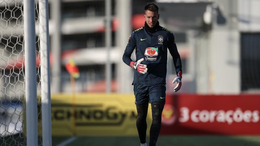 Neto treina com a seleção brasileira na Rússia - Andre Mourao/Mowapress