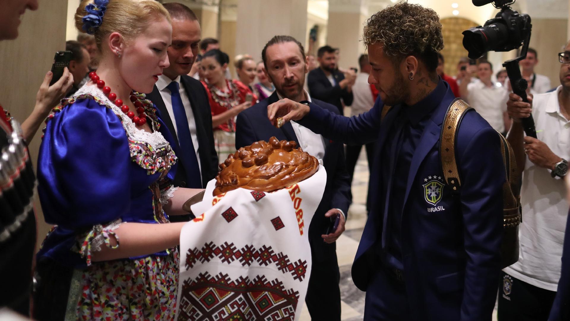 Neymar pão korovai seleção brasileira
