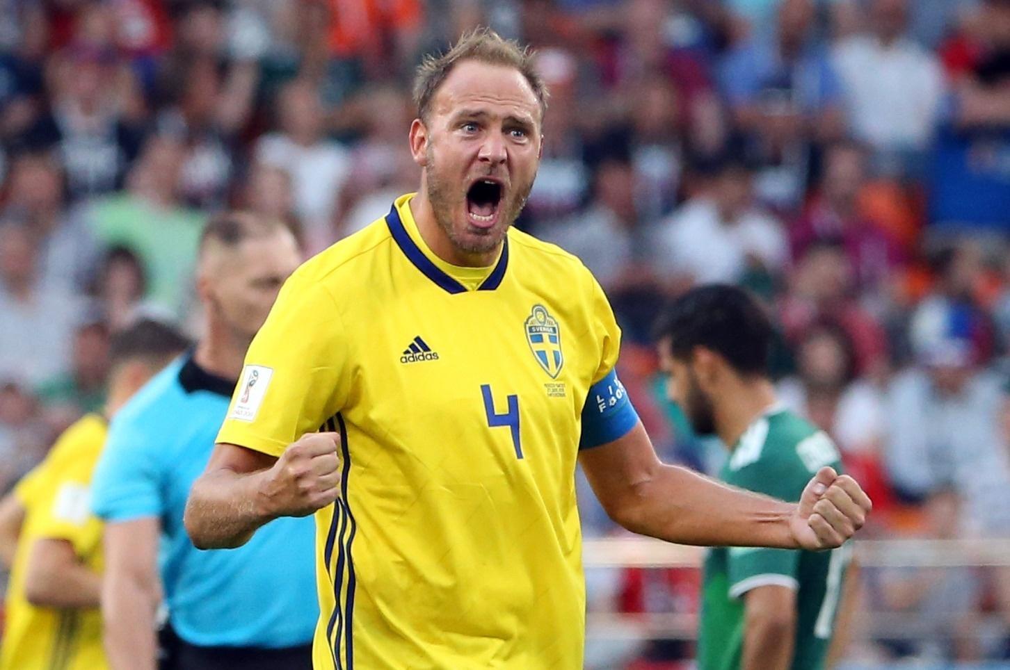 74a16bc348 Suécia na Copa 2018  Destaque na Copa