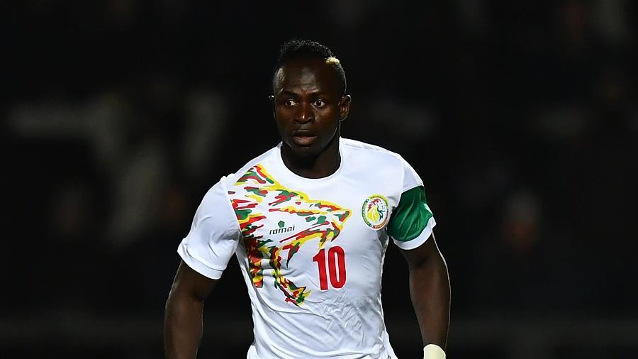 Sadio Mané durante jogo da seleção de Senegal - Dan Mullan/Getty Images