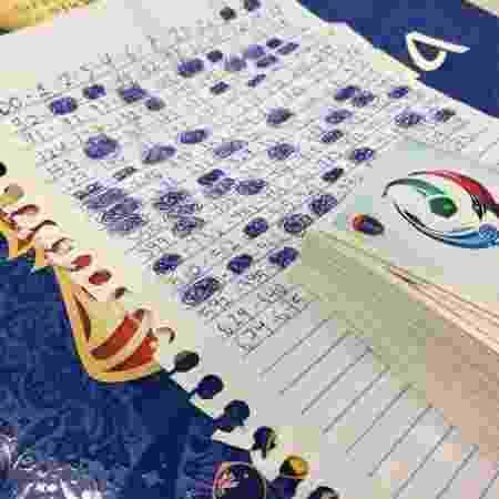 Lista de figurinhas faltantes para o álbum da Copa do Mundo de 2018 - Emanuel Colombari/UOL - Emanuel Colombari/UOL