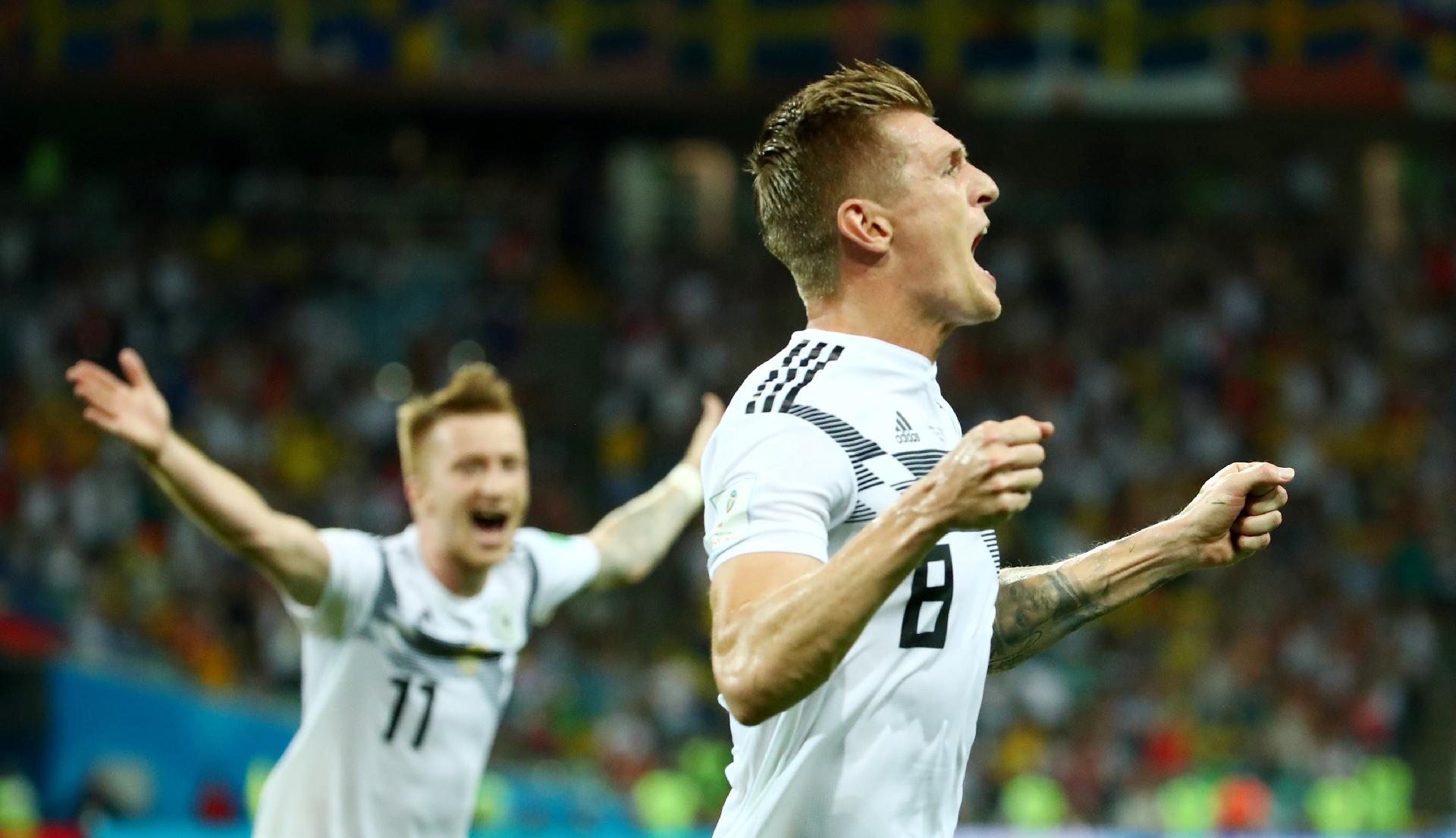 Alemanha x Suécia  Alemanha vira sobre a Suécia no último lance e ganha  sobrevida na Copa - UOL Copa do Mundo 2018 536ac5786ccdf