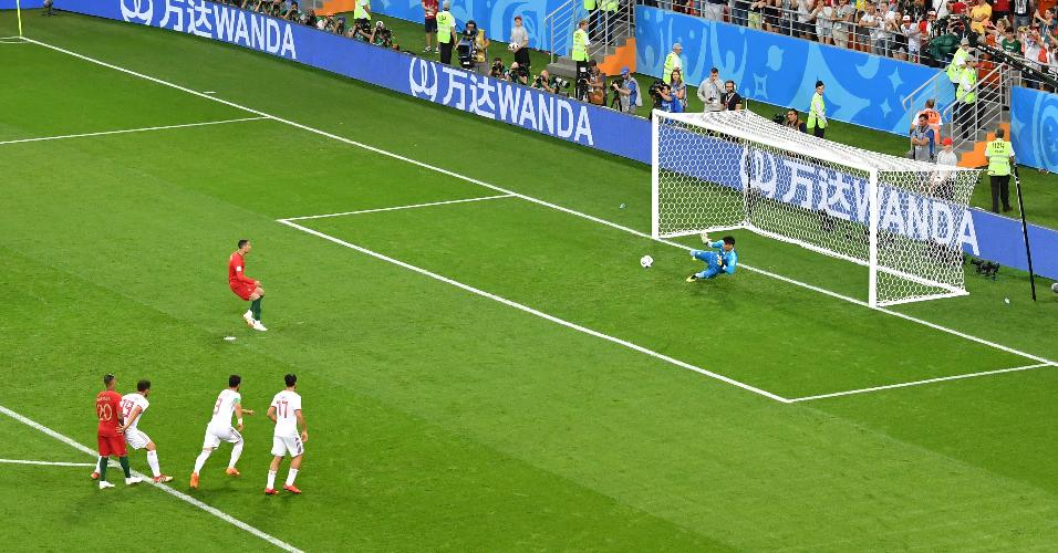 Cristiano Ronaldo perde pênalti contra o Irã