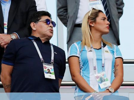 """Maradona nunca foi violento comigo"""", diz ex-namorada Rocío Oliva -  03/06/2020 - UOL Esporte"""